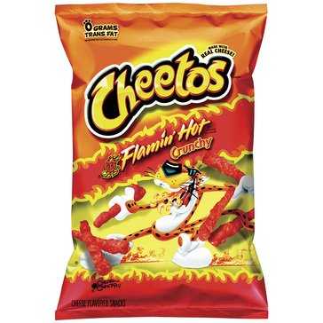 Cheetos Crunchy Flamin Hot 8.5oz