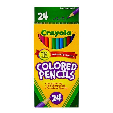 Crayola 24-Count Colored Pencils