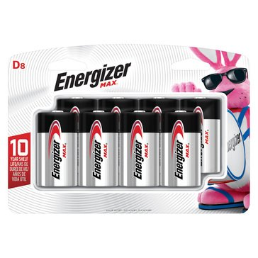 Energizer D Battery-8 Pack