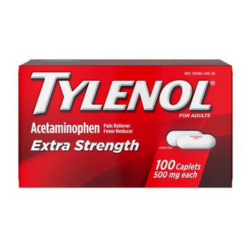 Tylenol Extra Strength 100ct Caplets