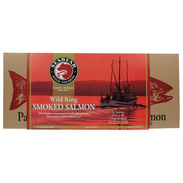 Seabear Smoked King Salmon 16oz