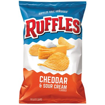 Ruffles Cheddar & Sour Cream 8.5oz