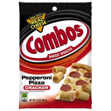 Combos Pepperoni Pizza Cracker 6.3oz