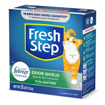 Fresh Step Odor Shield Scoop Litter with Febreeze