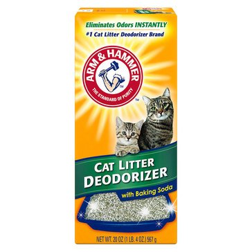 Arm & Hammer Cat Litter with Deodorizer Powder