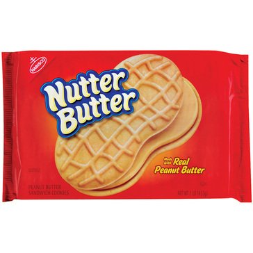 Nutter Butter Sandwich Cookies 16oz