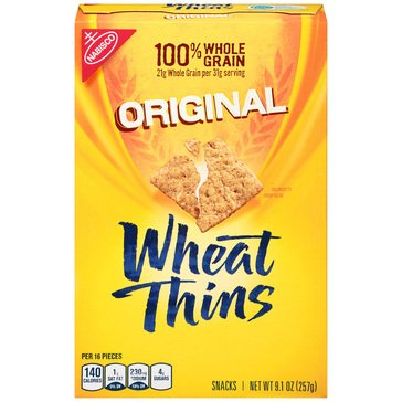 Wheat Thins Original Crackers 9.1oz