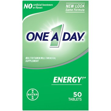 One A Day Energy Multivitamin 50ct