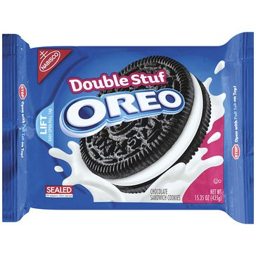 Oreo Double Stuff Chocolate Sandwich Cookies 15.35oz