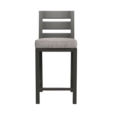Signature Design by Ashley Perrymount Bar Stool with Cushion Set of 2, Brown