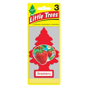 Little Trees Strawberry 3-Pack Air Freshener