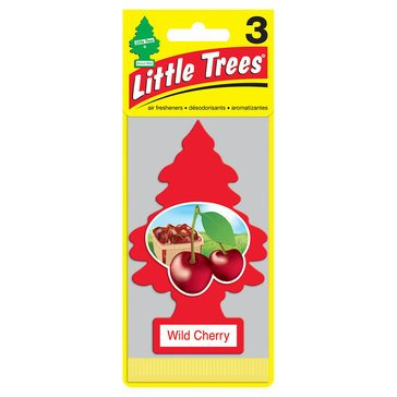 Little Trees Wild Cherry 3-Pack Air Freshener