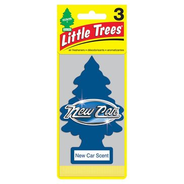 Little Trees New Car Scent 3-Pack Air Freshener