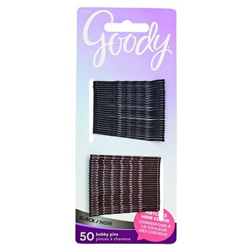 Goody Metallic Bobby Pins Black 50ct