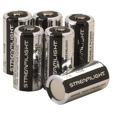 Streamlight Lithium Batteries 3 Volt 6pk