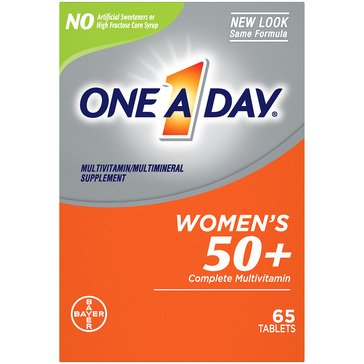One A Day Women's 50+ Advantage 65ct