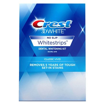 Crest 3D White Strips Vivid, 10 Count