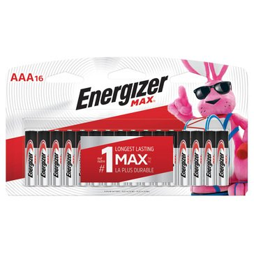 Energizer MAX AAA Battery-16 Pack