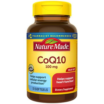 Nature Made COQ10 100 MG 72ct