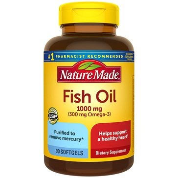 Nature Made Fish Oil 300 mg Omega-3 90ct