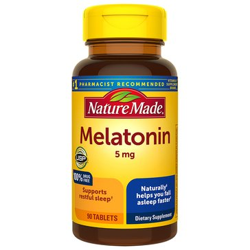 Nature Made Max Strength Melatonin 5 MG 90ct