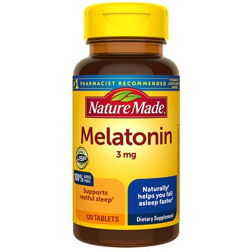 Nature Made Melatonin 3 MG 120ct