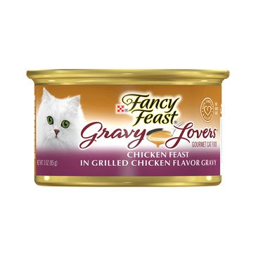 Purina Fancy Feast Gravy Lovers Grilled Chicken Adult Wet Cat Food