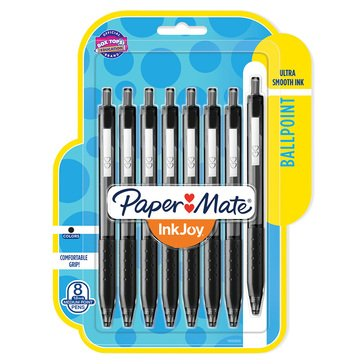 Paper Mate 8-Count 300RT Effortless Glide Ballpoint Pens