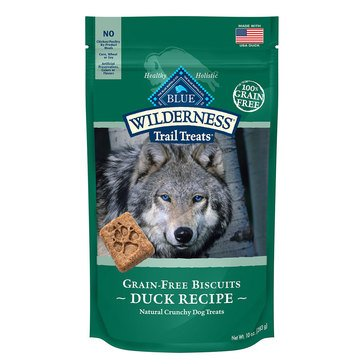 Blue Buffalo Wilderness Duck Biscuits Dog Treats