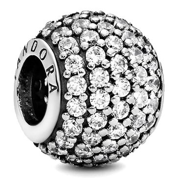 Pandora Sterling Silver Lights Charm