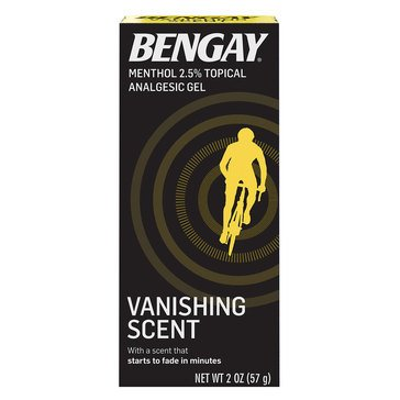 Bengay Vanishing Scent Non-Greasy 2oz