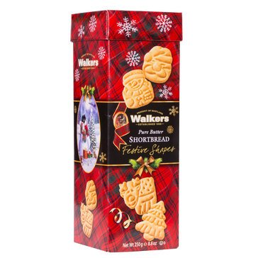 Walkers Festive Shapes Drum 8.8oz