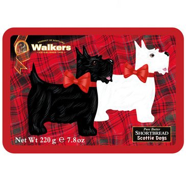 Walkers Scottie Dogs Shortbread Tin 7.8oz