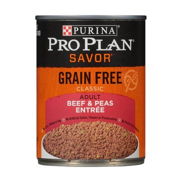 Purina Pro Plan Grain Free Beef Adult Wet Dog Food