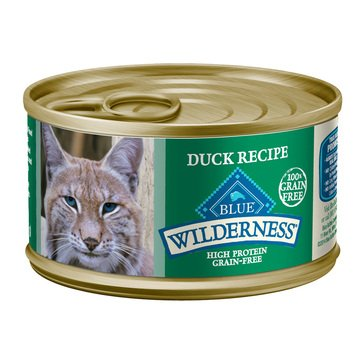 Blue Buffalo Wilderness 3 oz. Duck Adult Wet Cat Food