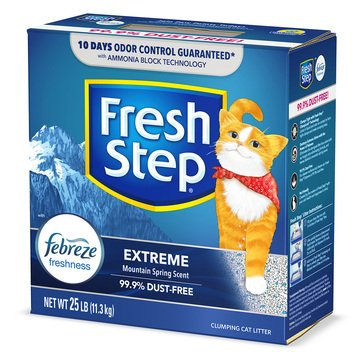 Fresh Step Extreme Odor Control with Febreeze Cat Litter