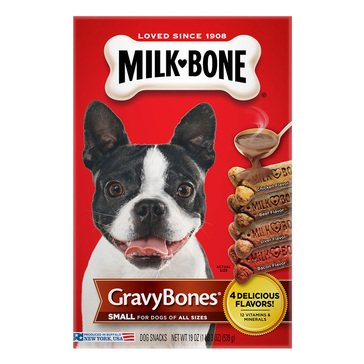 MilkBone Gravy Bone Small/Medium Dog Treats