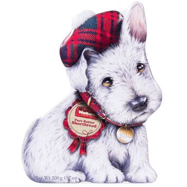 Walkers Wee Scottie Dog Shortbread Tin 7oz
