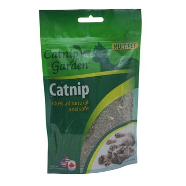 Multipet Catnip Gusseted 1 oz. Bag for Cats