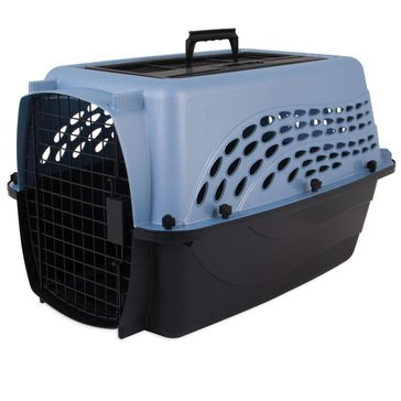 Petmate 2-Door Top Load Kennel 24 for Up to 15lbs.Cats