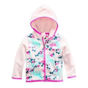 The North Face Baby Girls' Glacier Full Zip Hoodie, Pink