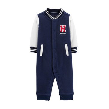 Carter's Baby Boys' Handsome Fleece Jumpsuit