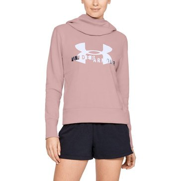 Under Armour Women's Cotton Fleece Sport Style Graphic Hoodie