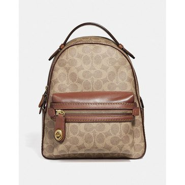 Coach Coated Canvas Signature Campus Backpack 23