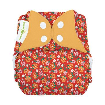 BumGenius Freetime Snap One Size Cloth Diaper, Prairie Flowers