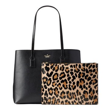 Kate Spade Hadley Road Dina Shoulder Black/Leopard