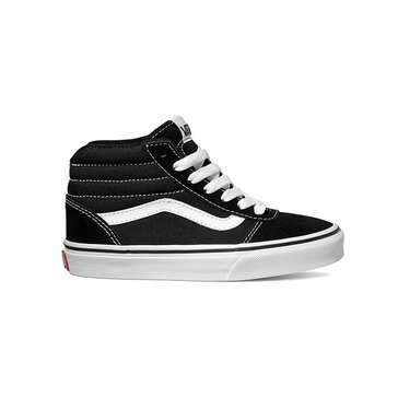 Vans Boys Ward Hi Top Suede Sneaker (Little Kid)