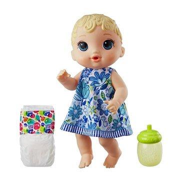 Baby Alive Lil' Sips Blond Haired Baby Doll