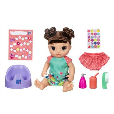 Baby Alive Potty Dance Baby, Brunette