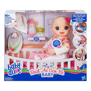 Baby Alive Real As Can Be Baby, Blonde